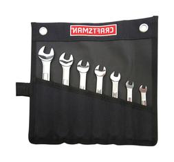 NEW 00921086 CRAFTSMAN 7 PACK STEEL METRIC WRENCH SET NEW