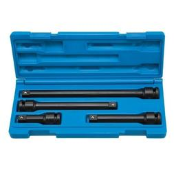 6 Pc 1/2 Dr Adapter and Extension Set