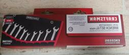 Craftsman 10 Pc Combination Wrench set and Roll Pouch Standa