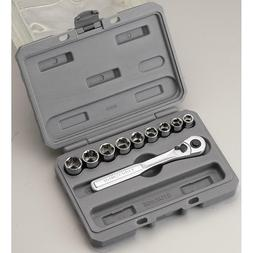 CRAFTSMAN 10 pc. 6 pt. 3/8 in. Metric Socket Wrench Set With