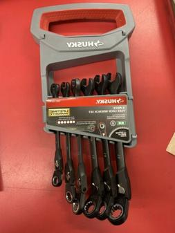 100-Position Flex-Head Ratcheting Wrench Set Metric