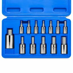 Neiko 13-Piece Hex Bit Socket - Metric MM