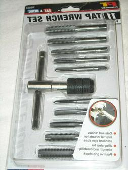 11 piece Tap Wrench Set NEW SAE & METRIC