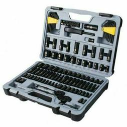 Stanley 123 Piece Mechanics Tool Set Chrome Standard SAE Met