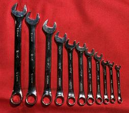 SK 86124 SuperKrome 14 Piece 6 Point 1//4-Inch to 15//16-Inch Combination Wrench Set SK Hand Tools