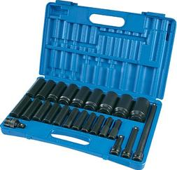 Grey Pneumatic 1324D 24-Piece 1/2 in. Drive Deep Socket Set
