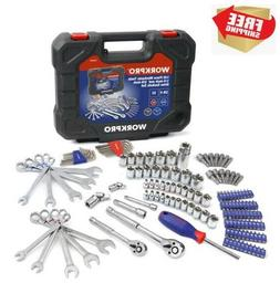 145 Piece Mechanic's Tool Set 1/4-inch And 3/8-inch Drive So
