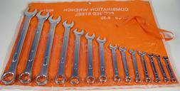 14pc Metric COMBINATION WRENCH SET w/ Storage Pouch Big 32mm