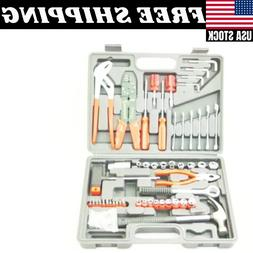 150 Piece TOOL KIT SET Hammer Wrenches Pliers Wire Strippers