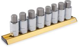 Titan Tools 16132 SAE/Metric Large Hex Bit Socket Set - 8 Pi