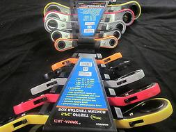 20 SIZES METRIC / SAE CTT 10pc DOUBLE ENDED OFFSET BOX STYLE