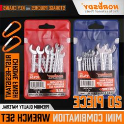 20pcs combination wrench set ignition spanner steel