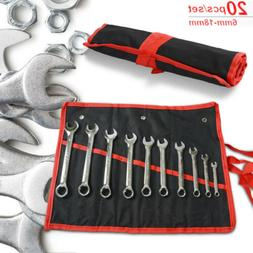 20pcs combination wrench set steel tools standard