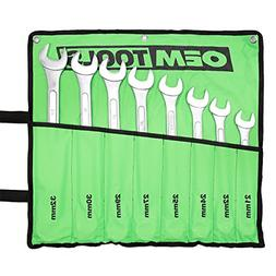 OEMTOOLS 22120 8 Piece Combination Wrench Set
