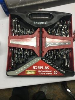 Husky 28-Piece SAE and Metric Combination Wrench Set - NEW -