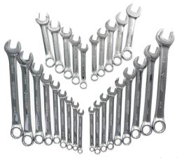 Husky 28CW002NC 28-Piece SAE and Metric Combination Wrench S