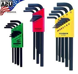 30pc hex and torx l wrench set