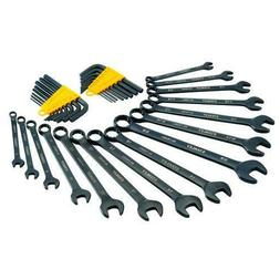 Stanley 31-Piece 6-IN-1 UNIVERSAL WRENCH & HEX KEY SET SAE /