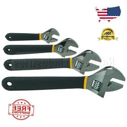 4 Pc Adjustable Crescent Wrench Style Set  SALE!!!