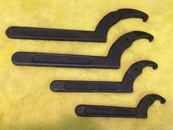 ARMSTRONG 4 PIECE ADJUSTABLE HOOK SPANNER WRENCH SET