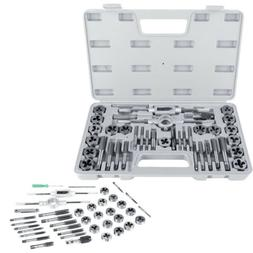 40Pcs M3-M12 Screw Nut Tap and Die Set Wrenches and Thread G