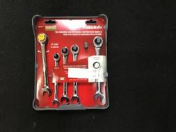 Husky 5 Pc Ratcheting Universal Combination Wrench Set 76688