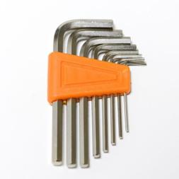 8 Pieces Hex key L wrench hand tool set Size 1.5 2 2.5 3 4 5