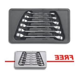 81907D 6 pc. SAE Flare Nut Wrench Set With FREE 6 pc. Metric