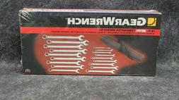 81920 GearWrench 18 Pc. METRIC XL Combination Wrench Set 7mm