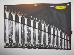 Stanley 85-990 14 PC Combination Wrench Set SAE