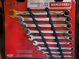 CRAFTSMAN 9-Piece Combination Long Wrench Set 947238 Polishe