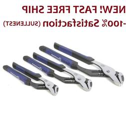 Kobalt 3-Pack Groove Joint Plier Set 8 in 10 in 12 in Channe