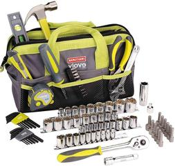 NEW Craftsman 83 pc Tool Set Kit + Bag, Sockets Wrench Plier