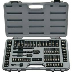STANLEY 69-Piece Socket Mechanics Tool Set, Black Chrome | 9