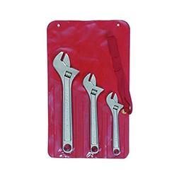 Crescent AC3 3 Piece Alloy Steel Adjustable Wrench Set, 6 in