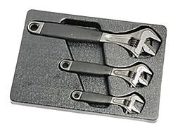 BAHCO Adjustable Wrench with Pipe Wrench 3pc Set