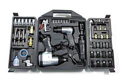 Dynamic Power 50 Piece Air Tool Kit. 1-1/2'' Impact Wrench,