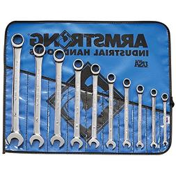 Armstrong 25-667 10 Piece SAE Geared Combination Wrench Set