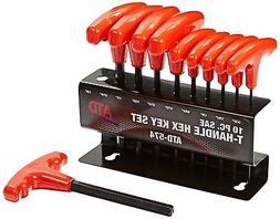 Rel Products, Inc. ATD-574 10 Pc. Sae T-handle Hex Key Set