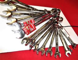Brand New 19 Pc Metric Husky Open End Wrench Set! 6mm-30mm S
