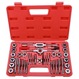 Best Choice 40-Piece Tap and Die Set - SAE Inch Sizes | Esse