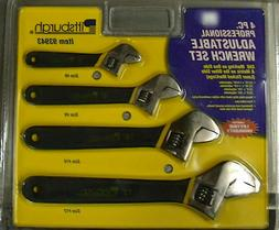 Choose from Pittsburgh 3 4 Pc Adjustable Wrench Set Wrenches