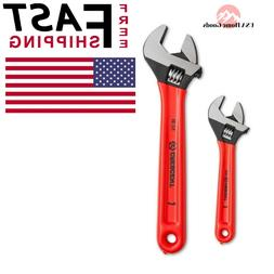 CRESCENT Adjustable Wrench Set  6 in. and 10 in. Durable Pol