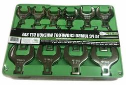 crowfoot wrench set sae 90150