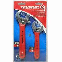 Crescent 2-Piece Cushion Grip Adjustable Wrench Set