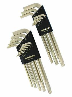 Double Pack Gold Guard Fractional/Metric Wrench