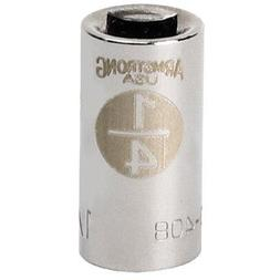 """Armstrong 10-408 1/4"""" Drive 8 Point Standard Socket 1/4"""""""