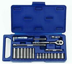 Williams 50662 1/4-Inch Drive Socket and Drive Tool Set