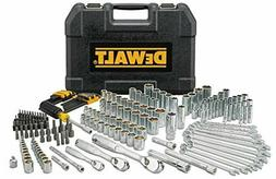 DEWALT DWMT81534 205Pc Mechanics Tool Set Sockets Wrenches M