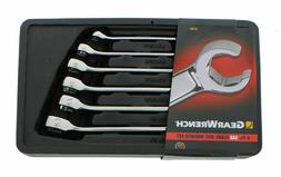 6 Piece Flare Nut SAE Wrench Set